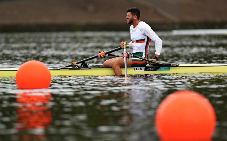 Кристиан Василев ще гребе на 1/2-финал на европейското по гребане