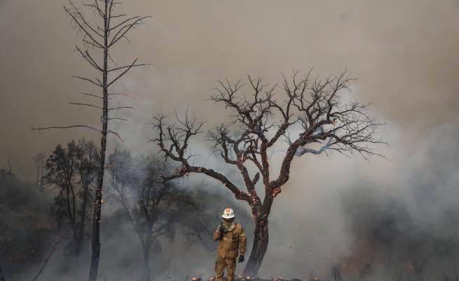 Това е най-горещата година, кални фонтани и пожари