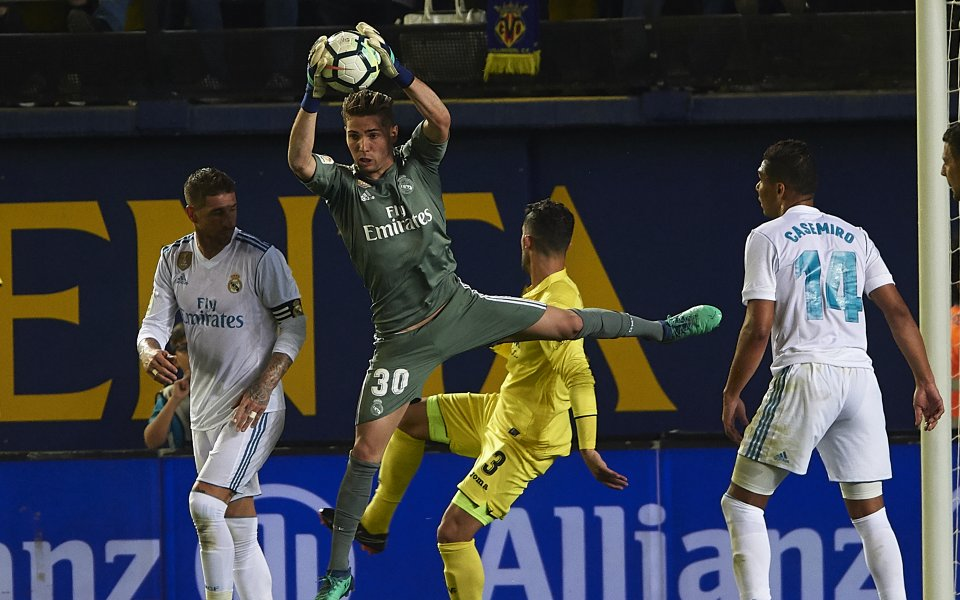 Вратарят на Реал Мадрид Лука Зидан може да премине в