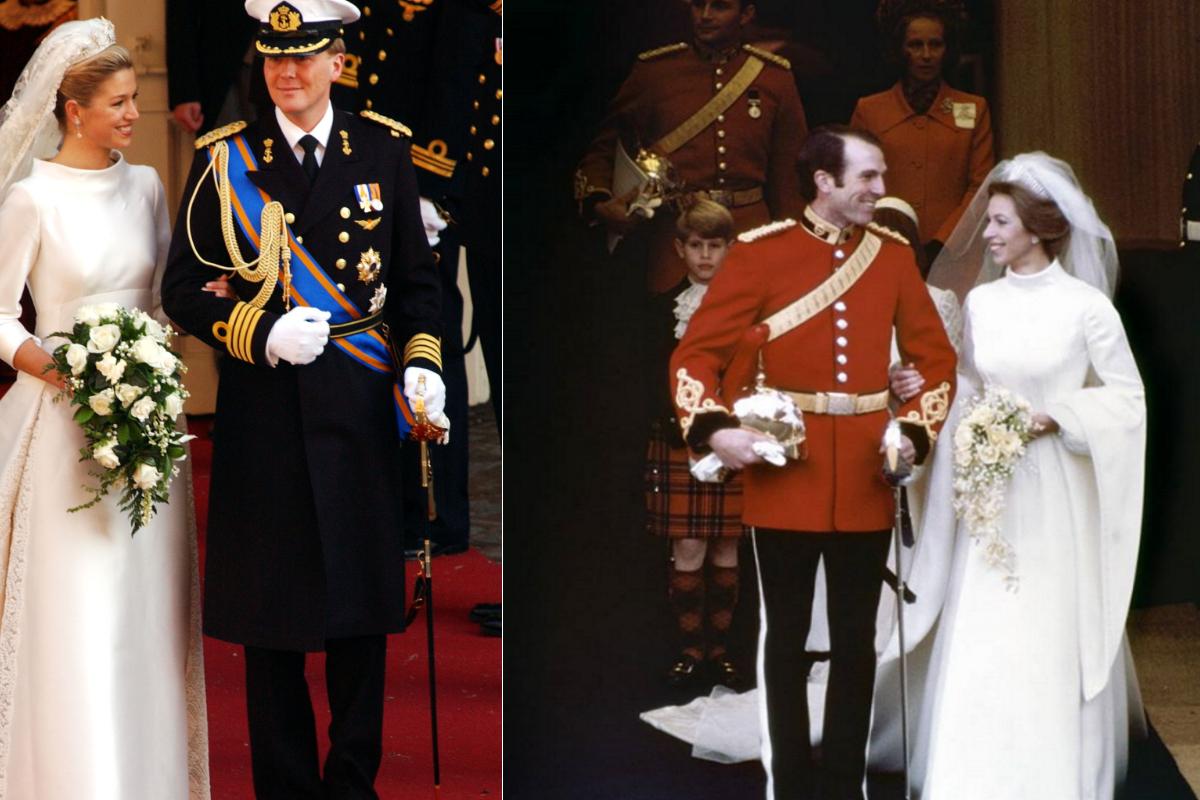 Нидерланската кралица Максима и дъщерята на кралица Елизабет II принцеса Ан