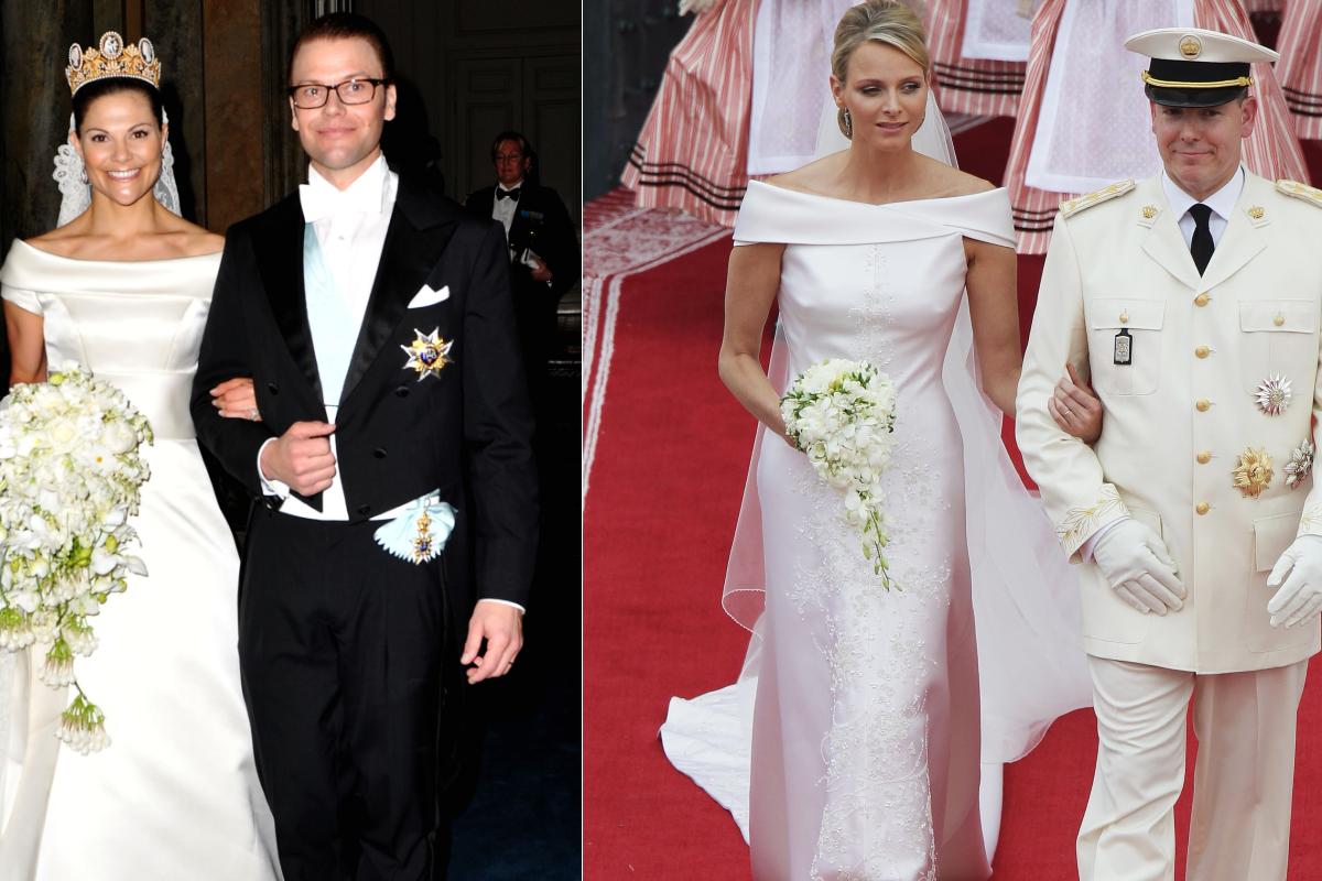 Принцесата на Монако Чарлийн и шведската принцеса Виктория