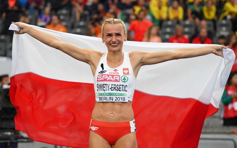 Полякиня грабна златото на 400 метра на европейското