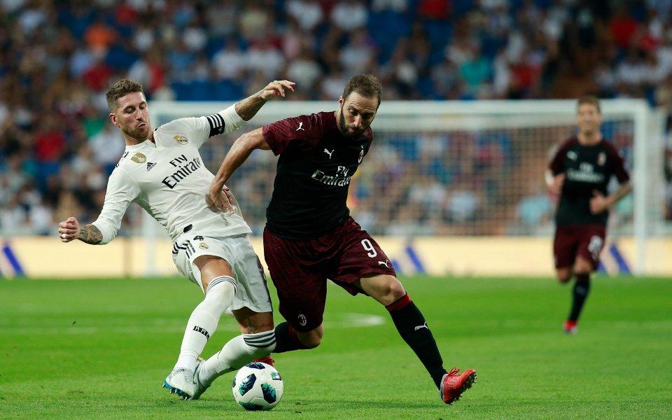 Вместо с Левски, Милан игра с Реал и загуби, а Интер би Атлетико