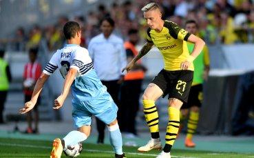 Автогол донесе победата на Борусия Д срещу Лацио