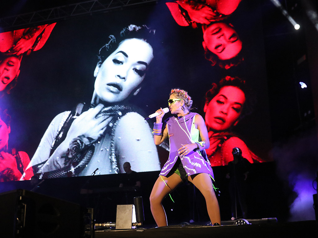 Rita Ora - на сцената на MTV Presents Varna Beach
