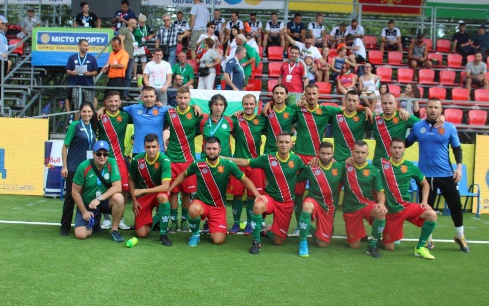 България тръгна с успех на Европейското по минифутбол