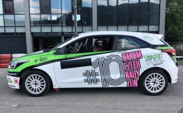 За 10-ти път - Екатерина Стратиева на рали Барум, с нов автомобил