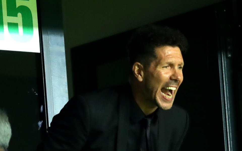 Диего Симеоне вече има 400 мача начело на Атлетико