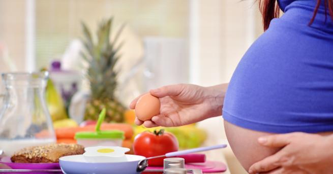 Яйцатаса най-пълноценната храна за бременните, като намаляват вероятността от преждевременно