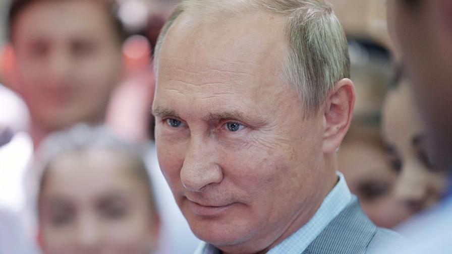 Путин: Не престъпници, цивилни са обвинените за Скрипал