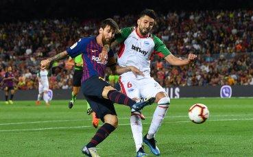 Какво става, когато Меси открие головата сметка на Барса в Ла Лига?