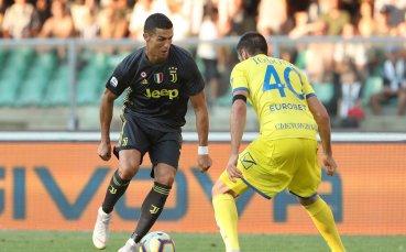 Алегри е много впечатлен от дебюта на Роналдо