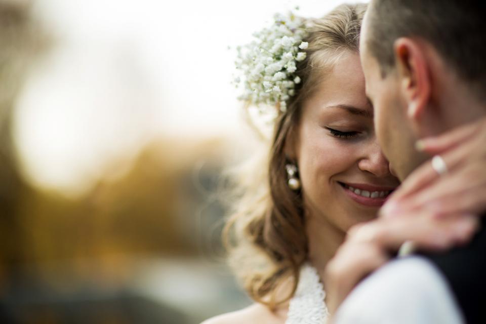 брак двойка сватба