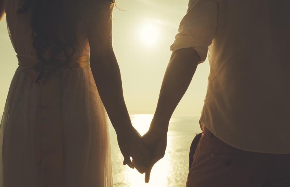 сватба брак двойка