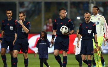 Турчин-кадемлия ще ръководи мача ни със Словения