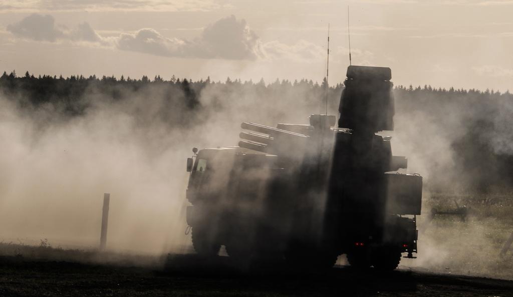 """Зенитно ракетно-оръдеен комплекс """"Панцир-С"""""""