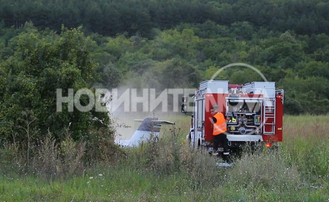Почина пилотът, катастрофирал със самолет край Шумен