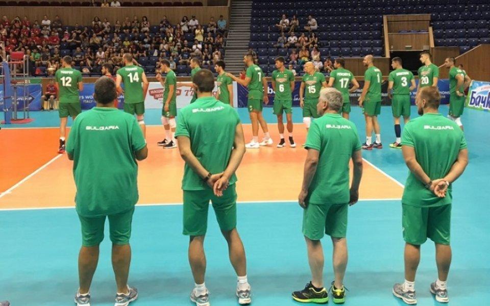 България загуби втората контрола срещу Египет