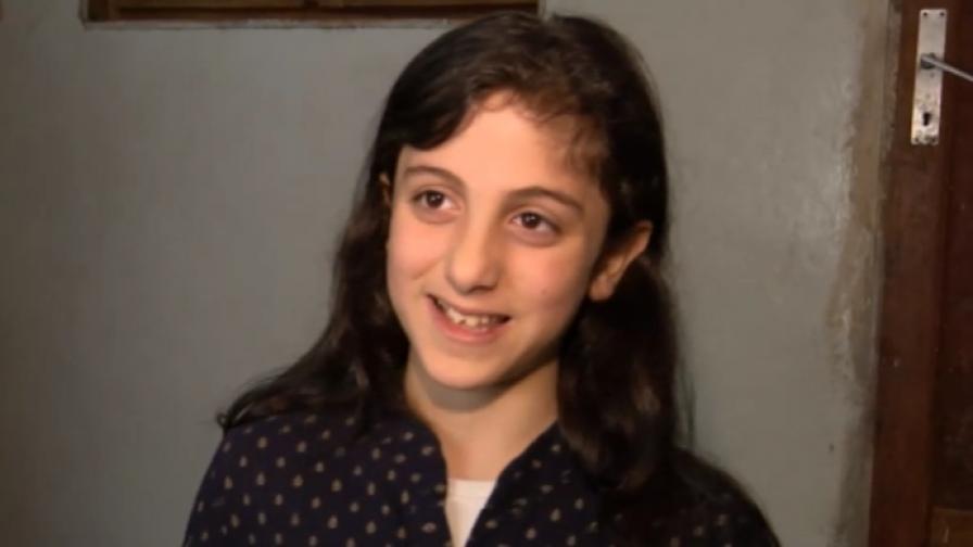 Цяло чудо е, че това момиченце оцелява. Историята на 10-годишната Маджида (ВИДЕО)