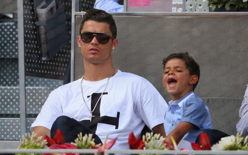 Роналдо се отдаде на почивка със своето гадже