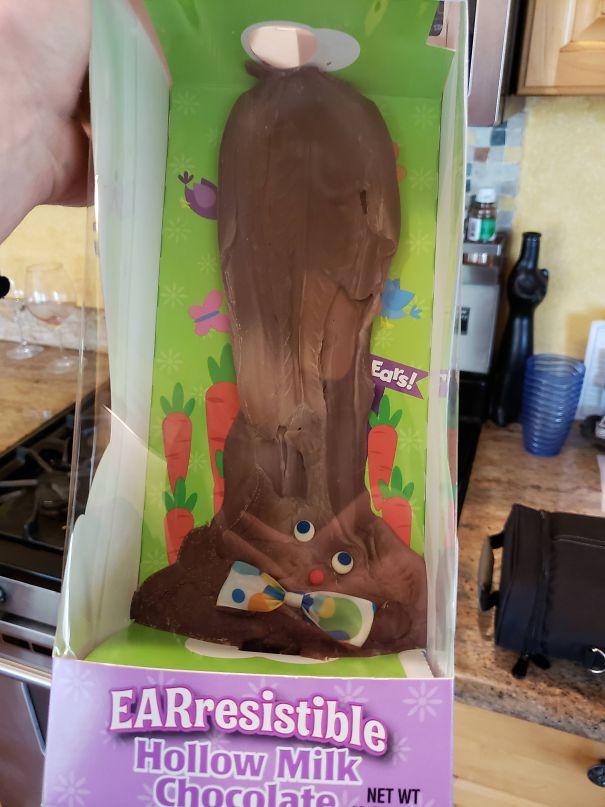 Никога не забравяйте шоколадовото зайче в колата.
