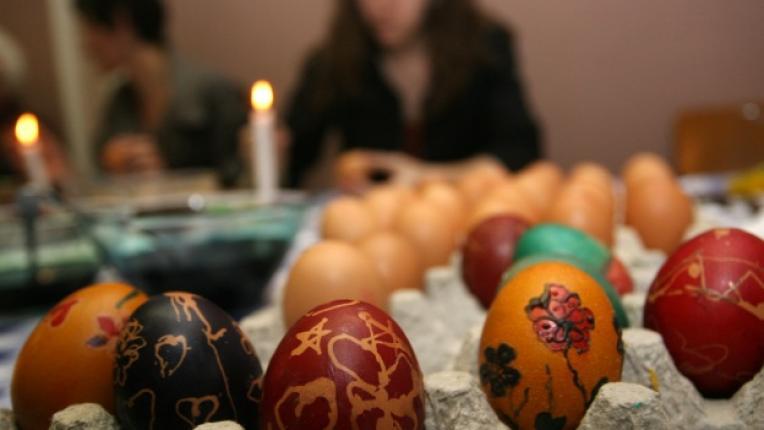 работилница великденски яйца изписване