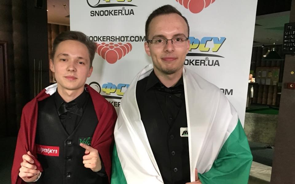 Георги Величков с престижно второ място на турнир по снукър в Украйна