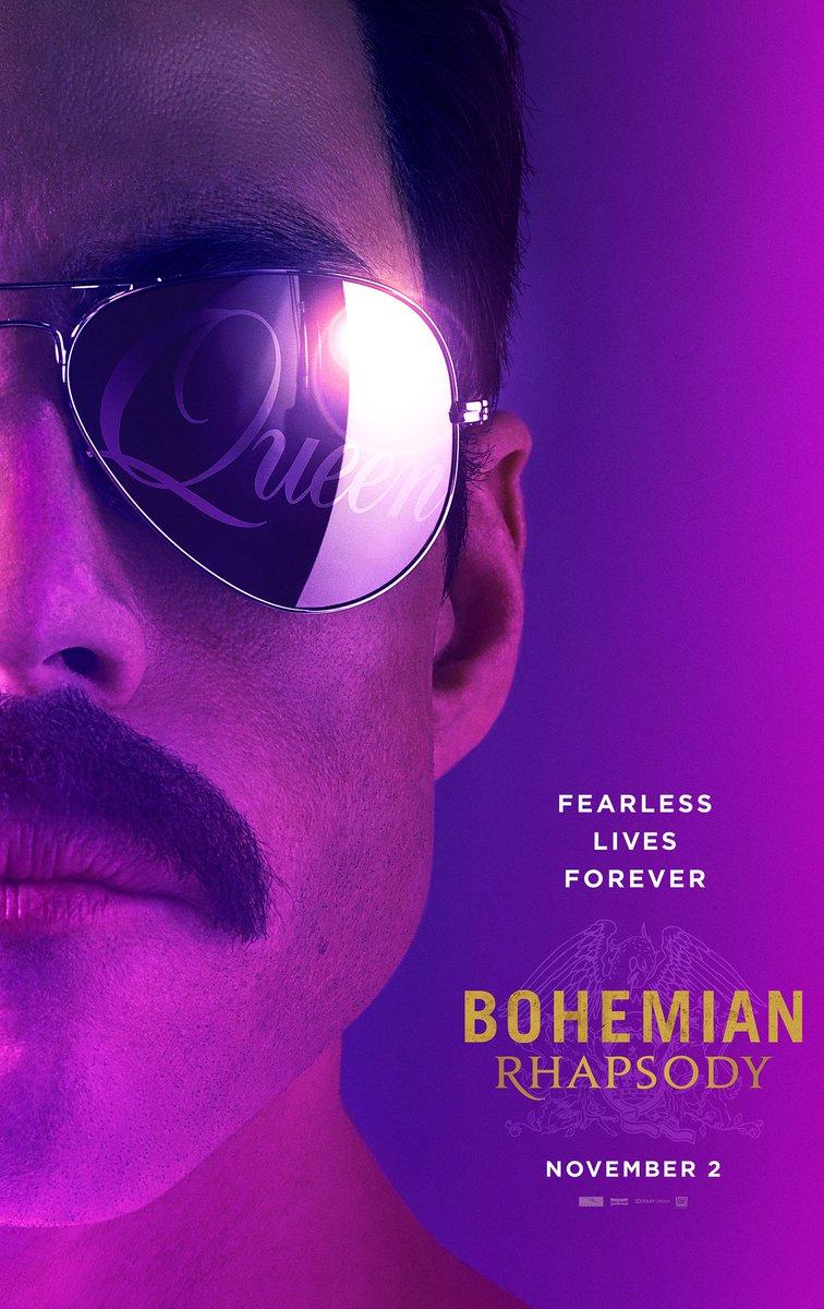 """4. Bohemian Rhapsody / """"Бохемска рапсодия"""" – Биографичен / Мюзикъл; Режисьор: Браян Сингър; Участват: Рами Малек, Ейдън Гилън, Майк Майърс"""