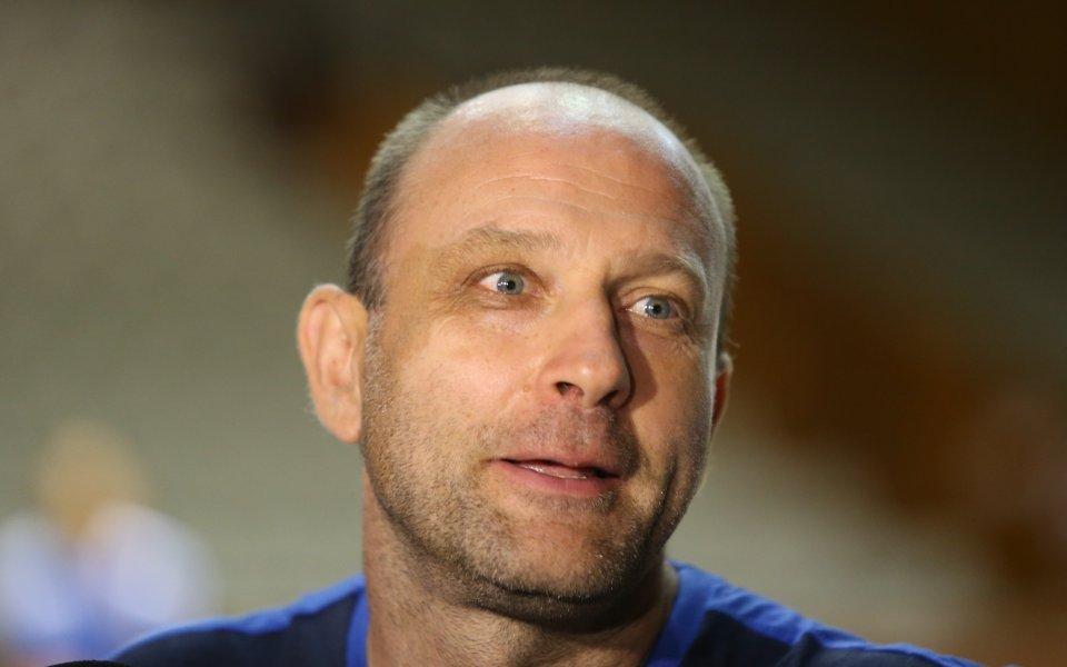 Наставникът наЛевски Лукойл `- Константин Папазов сподели очакванията си за