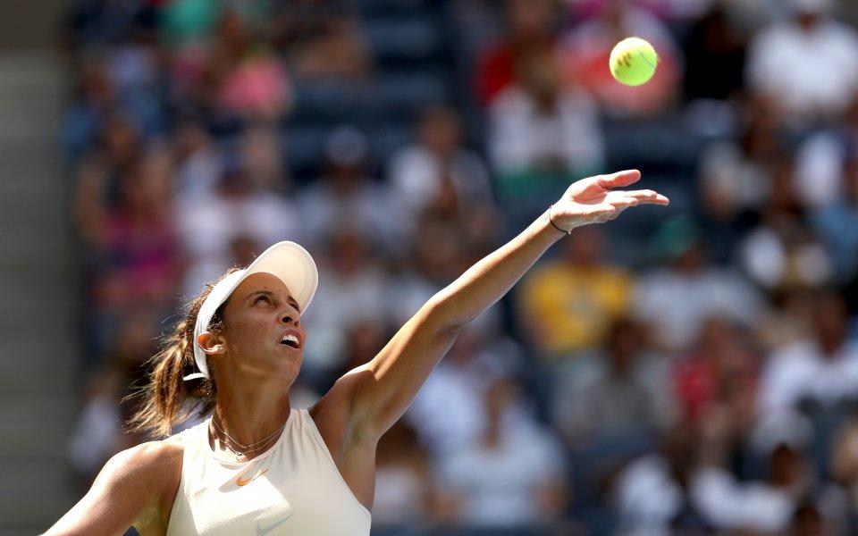 Мадисън Кийс в четвърти кръг на US Open