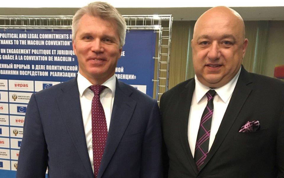 Руският спортен министър идва в България за три Световни