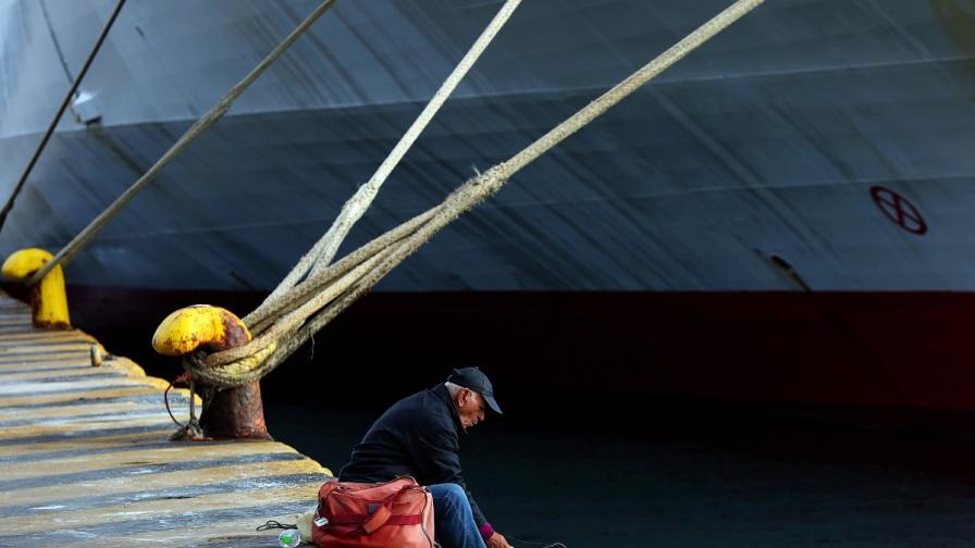 Стачка спря фериботите в Гърция, острови са откъснати