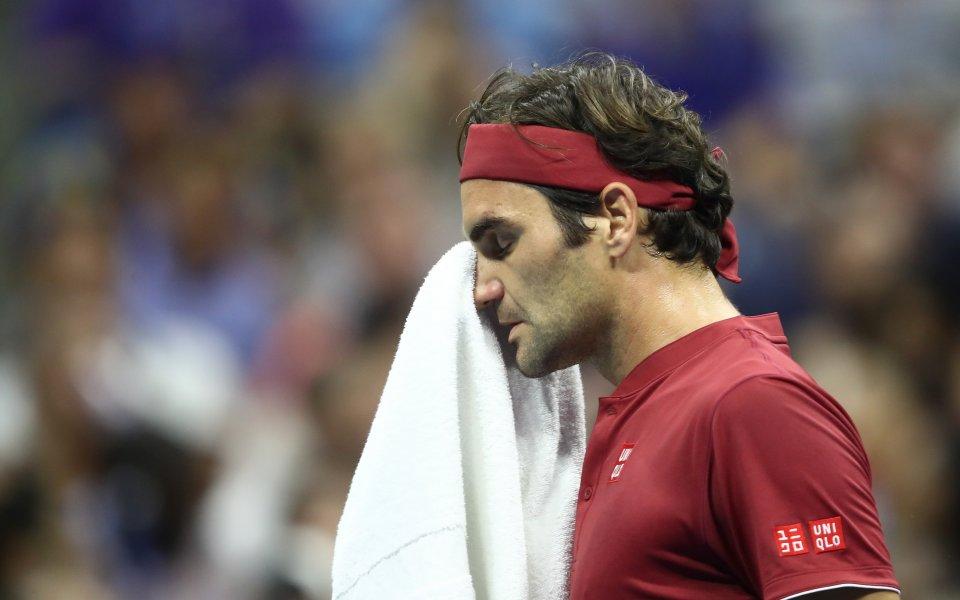 Федерер: Милман се справи по-добре с тежките условия