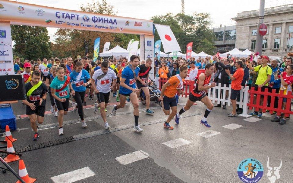Звезди от спорта и шоубизнеса ще бягат в щафетния маратон на София
