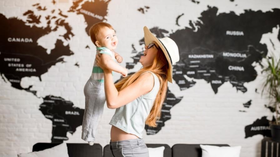 Колко трае платеното майчинство по света(СНИМКИ)