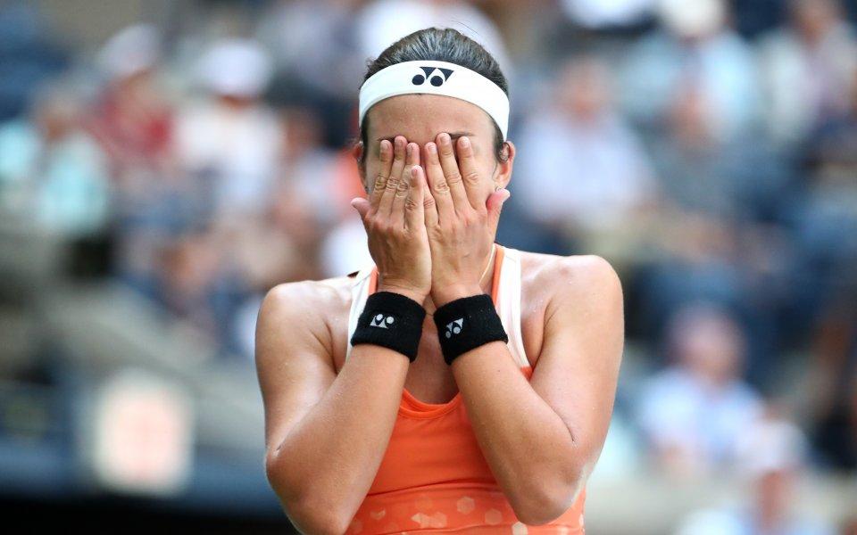 Шампионката от 2017 е аут от US Open