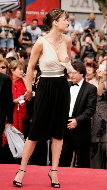 - Софи Марсо през 2005 г. в Кан