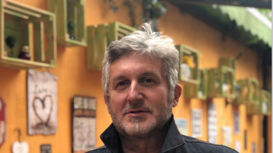 Георги Кузмов, който за поредна година организира фестивала.