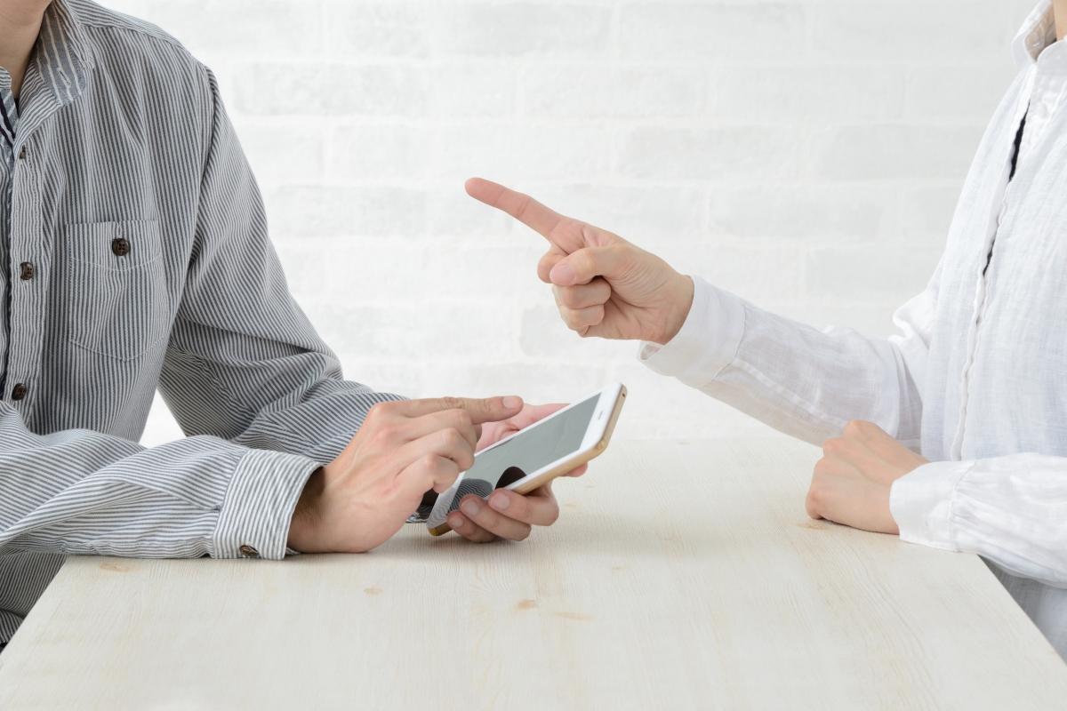 Не сочете партньора си с пръст. Това подсъзнателно показва, че го обвинявате.