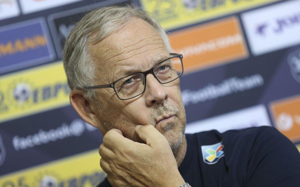 Треньорът на Норвегия Лагербак: С България си приличаме