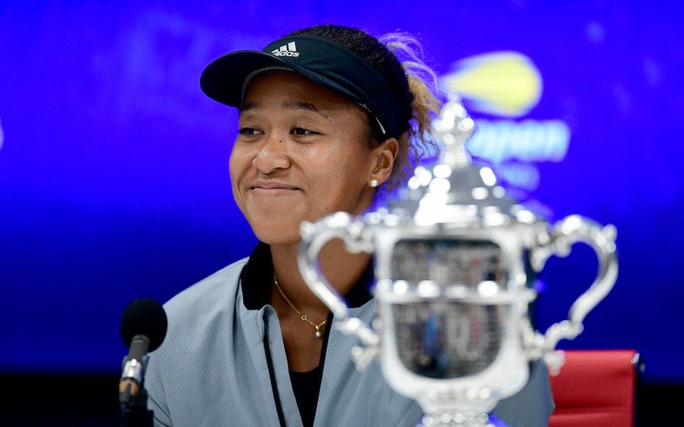 Премиерът на Япония поздрави новата шампионка на US Open