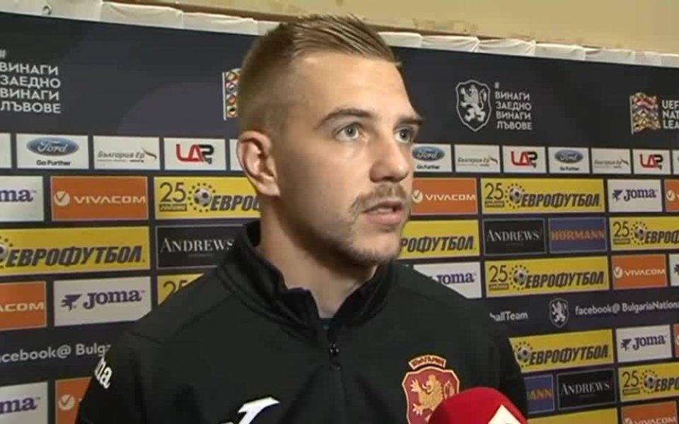Илиев: Разликата е огромна, не можем да победим никого в групата, не само Англия
