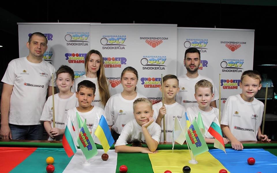 Деца от Украйна подкрепиха снукър-събитие в България