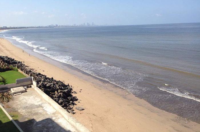 В почистването на плажа и водите му се включват 30 000 ученици и хиляди доброволци.