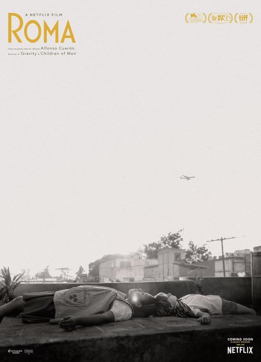 - 10. Roma – Мексико/САЩ; Режисьор: Алофонсо Куарон