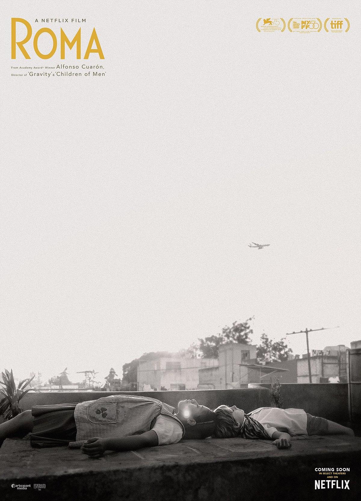 10. Roma – Мексико/САЩ; Режисьор: Алофонсо Куарон