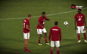 Евандро все още чака първия си мач като титуляр за ЦСКА