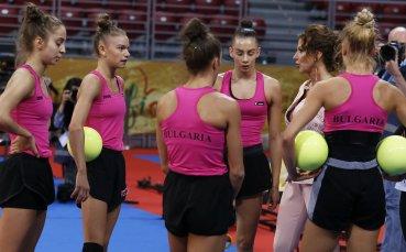 Босът на Европейския съюз по гимнастика поздрави Илиана Раева