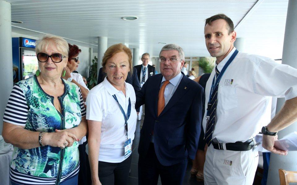 Бах очарован от Световното по гребане, направиха първа копка на втория канал в Пловдив