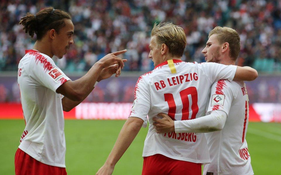 Лайпциг изстрада първата си победа за сезона
